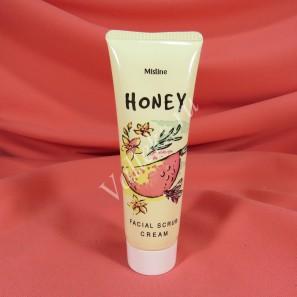 Медовый крем-скраб для лица Mistine Honey Facial Scrub Cream