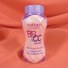 Натуральная рассыпчатая ВВ & СС пудра NATRIV для любого типа кожи