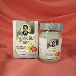 Тайский белый массажный бальзам Wangphrom