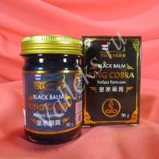 Тайский черный травяной бальзам с ядом королевской кобры  Thai Herb, 50мл