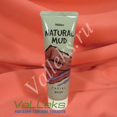 Натуральная грязевая детокс-маска от компании Mistine, 85мл