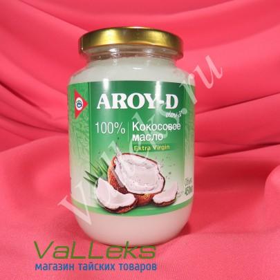 Кокосовое масло нерафинированное AROY-D 450мл