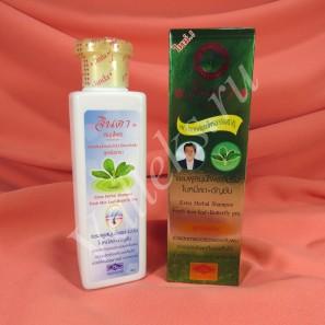 Концентрированный травяной шампунь-гель от выпадения волос Jinda, 250мл