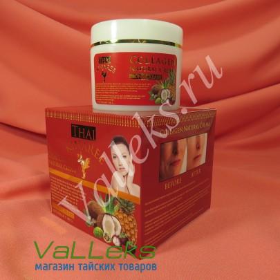 Антивозрастной крем с морским коллагеном экстрактом Нони витамином Е Thai Kinaree 100гр.