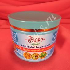 Восстанавливающая маска с женьшенем для роста волос Jinda Herbal Treatment Oil 400мл