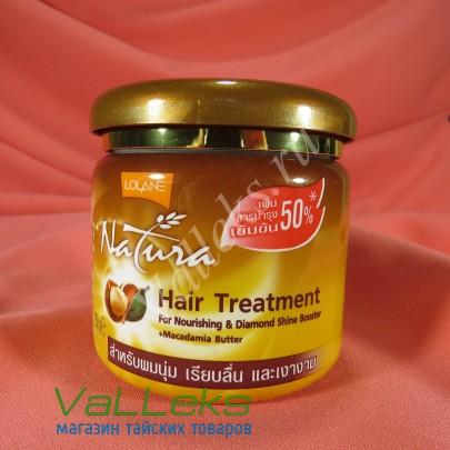 Маска для волос с маслом макадамии Lolane 250мл