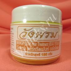 Лечебная маска для волос с яичным желтком от Wangprom