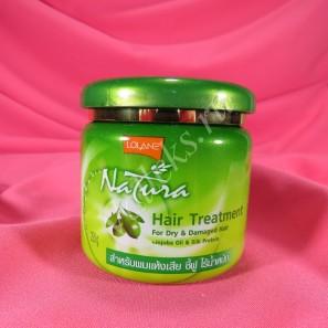 Маска для волос с жожоба и оливковым маслом Lolane