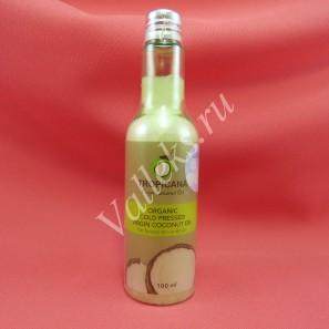 Органическое кокосовое масло холодного отжима для ухода за волосами и кожей Жасмин Tropicana, 100мл