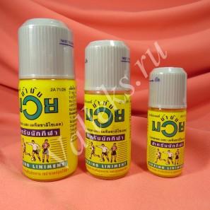 Массажное масло-анальгетик для спортсменов Muay Thai