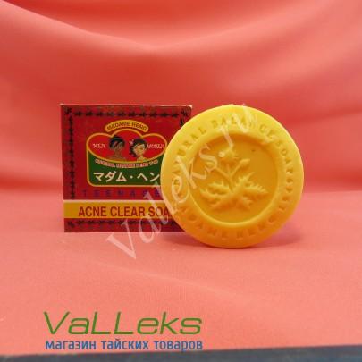 Безсульфатное мыло для проблемной кожи Acne Madam Heng, 150гр.
