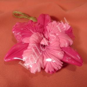 Тайское натуральное фигурное мыло ручной работы Орхидея