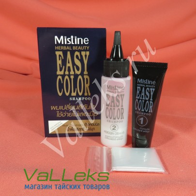 Подкрашивающий шампунь для волос Mistine Herbal Beauty