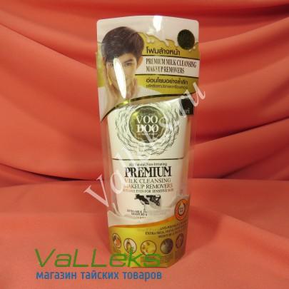 Пенка для очищения лица и удаления косметики с молочным протеином VOODOO 100мл
