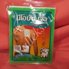 Обезболивающий пластырь с натуральными маслами Neobun-Gel