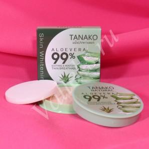 Увлажняющая компактная пудра для лица с экстрактом алоэ вера Tanako