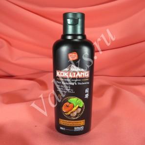 Безсульфатный шампунь для темных волос Kokliang на основе трав