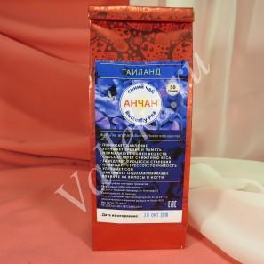 Синий тайский чай из цветов клитории Анчан