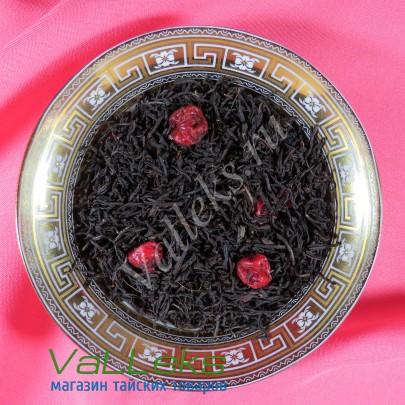 """Черный ароматизированный чай """"Спелая вишня"""", 100гр."""