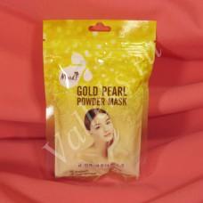 Золотая маска с жемчужной пудрой Moods Belov 50гр.