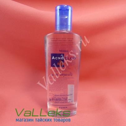 Очищающий тонер для проблемной кожи лица Mistine 100мл