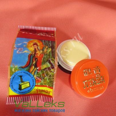 Отбеливающий жемчужный крем для возрастной и проблемной кожи Kuan Im Pearl