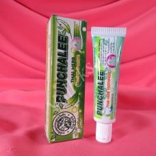 Отбеливающая натуральная зубная паста Punchalee