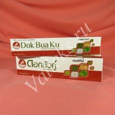 Травяная зубная паста Dok Bua Ku Sensitive для чувствительных зубов, 100гр.