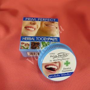 Травяная безсульфатная тайская зубная паста Prim Perfect