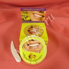 Твердая органическая зубная паста с экстрактом манго Thai Kinaree